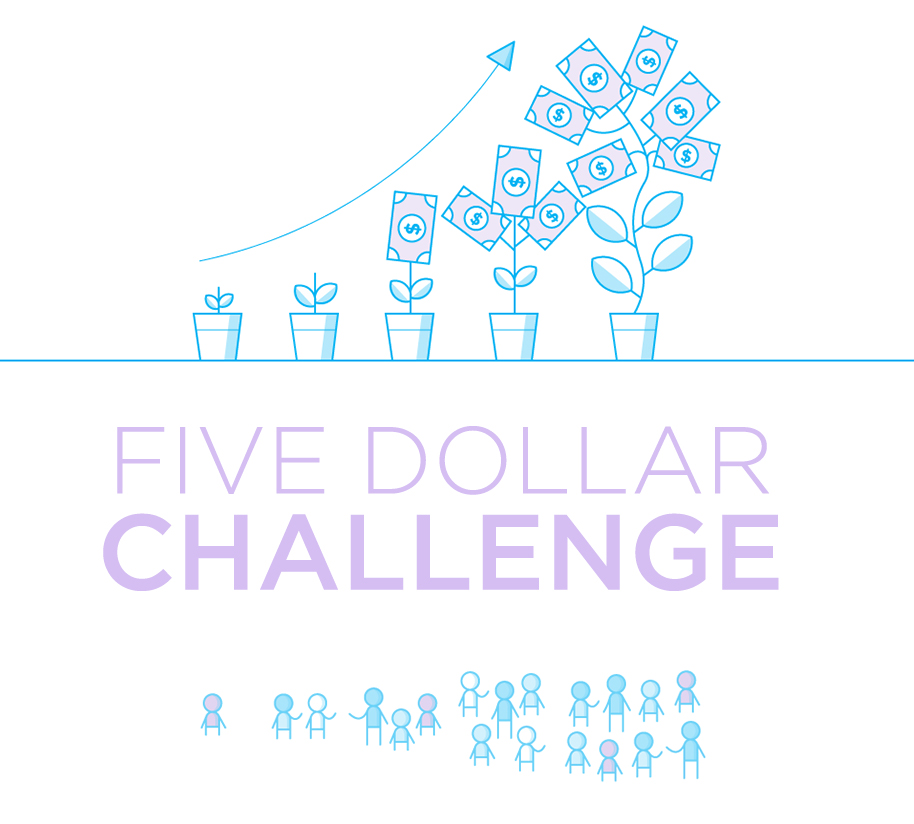 The Five Dollar Challenge